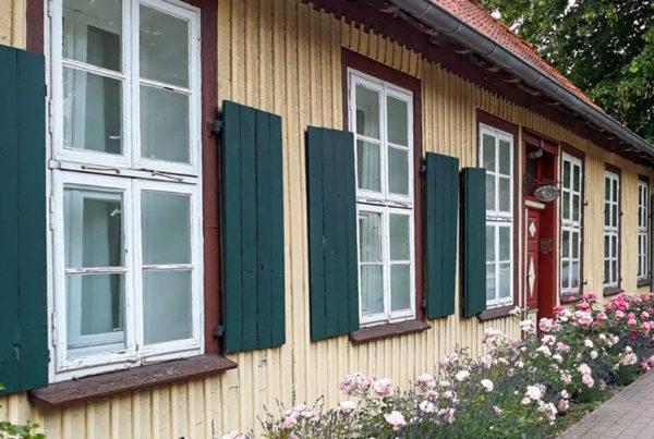 Rosenhaus Fenster